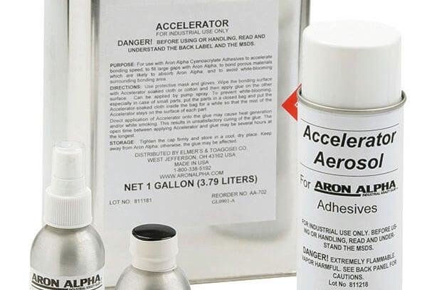 cyanoacrylate accelerators adhesive
