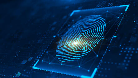 forensic fingerprint scan